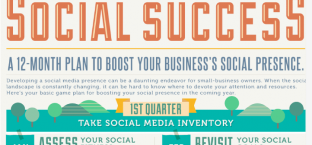12 Month Social Media Plan For Business